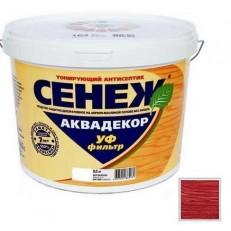 Антисептик тонирующий Сенеж Аквадекор 113 Слива 0,9 кг