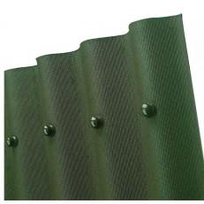 Лист кровельный волнистый Ондулин Smart зеленый 950х1950 мм