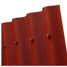 Лист кровельный волнистый Ондулин Smart красный 950х1950 мм