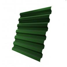 Профнастил С21 Grand Line Optima Satin 0,5 мм RAL 6005 зеленый мох