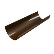 Желоб водосточный Devorex Classic 120 3 м коричневый