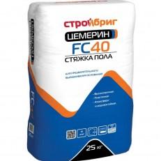 Стяжка пола Стройбриг Цемерин FC-40 25 кг
