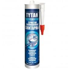 Герметик санитарный Tytan Euro-Line Силикон белый 290мл