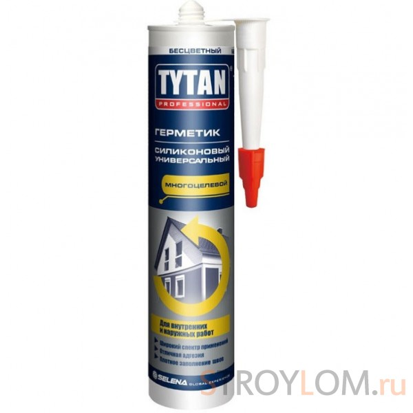 Герметик силиконовый универсальный Tytan Professional бесцветнный 310 мл