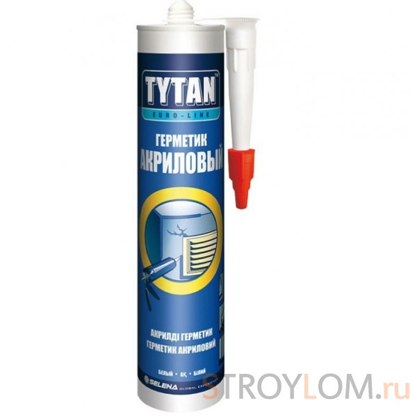 Герметик акриловый Tytan Euro-Line белый 290 мл