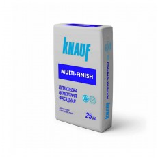 Кнауф Мульти-финиш фасадная 25 кг Шпатлевка цементная
