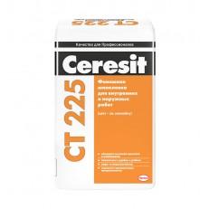 Шпатлевка финишная цементная Ceresit CT 225 белая 25 кг