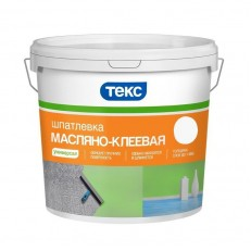 Шпатлевка масляная клеевая Текс Универсал 16 кг