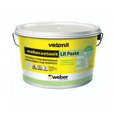 Шпатлевка суперфинишная Weber.Vetonit LR Pasta 5кг