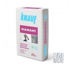 Штукатурка цементная декоративная Knauf Диамант 260 белая 25 кг
