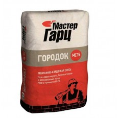 Смесь монтажно-кладочная Мастер Гарц Городок МС15 M150 50 кг