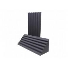 FLEXAKUSTIK Wave-Bass Trap 330х330х1000 мм, цвет серый графит