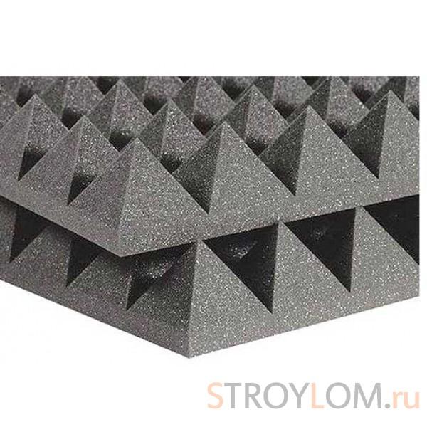 FLEXAKUSTIK PIR-70, 1000х1000х70мм, цвет серый графит